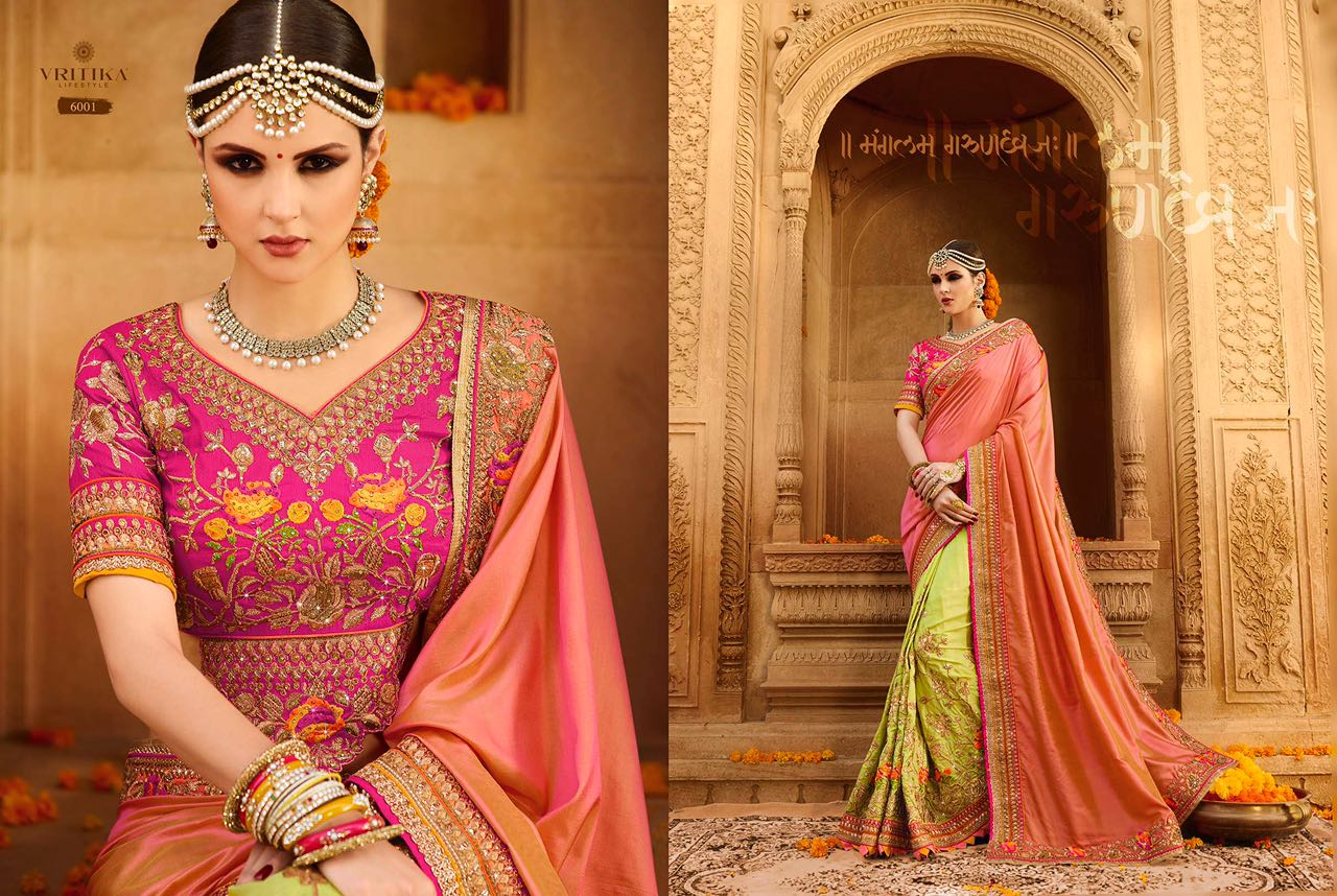 Sparsh Vol 3 – Engagement And Wedding Specially Designer Saree