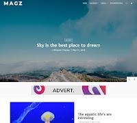Download Theme Blossomtheme Premium MagZ Blogger Blogspot Template Gratis Keren