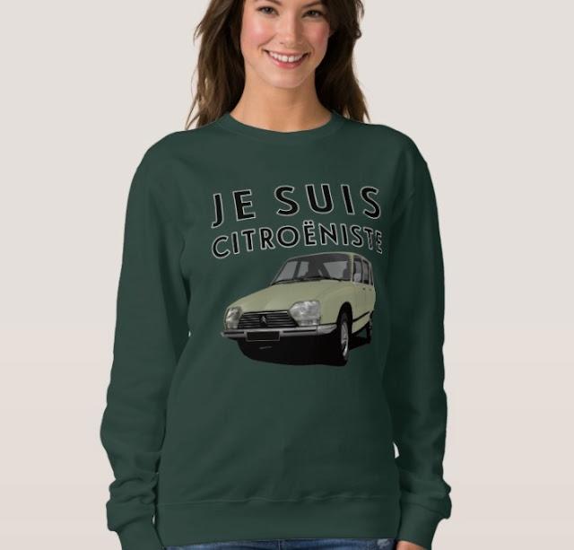 CItroën GS - Je suis citroëniste - shirt