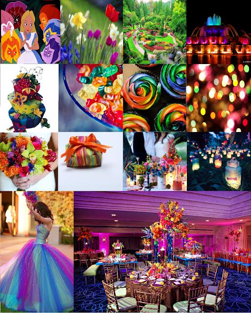A Magical Wedding Guide: Inspiration For A Colorful Garden