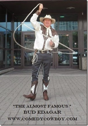 Comedy Cowboy Calgary Stampede Party Entertainment