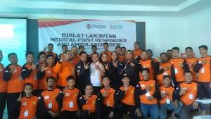 Tingkatkan Skill Relawan, SAR Hidayatullah Gelar Diklat MFR and Ambulance Crew