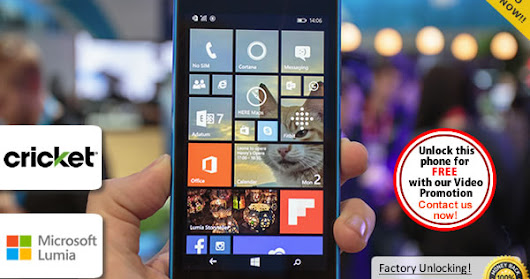 How to Unlock Lumia 640 from Cricket