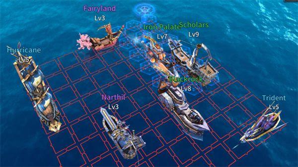 "Sailcraft Online Example ""General"" Fleet Build"