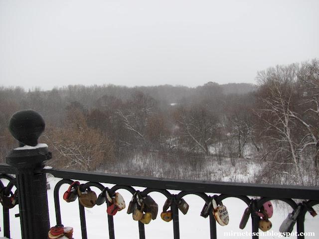 Рязань зимой