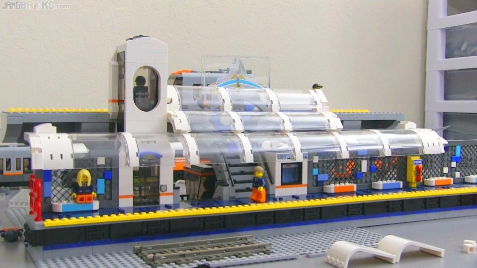 LEGO Train Station MOC update