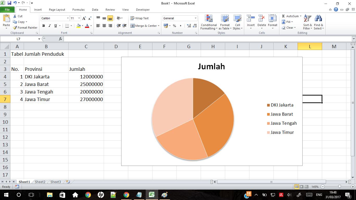 Cara Membuat Diagram Pie di Excel dengan Mudah | M. IQbaL ...