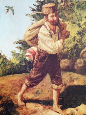 Feathers and Flowers: Johnny Appleseed Day