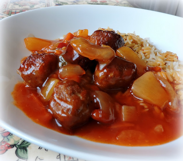 Pineapple Sweet and Sour Meatballs