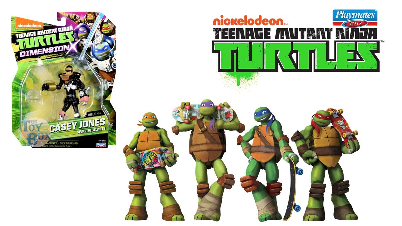 Teenage Mutant Ninja Turtles Casey Jones Dimension X Space Vigilante *New