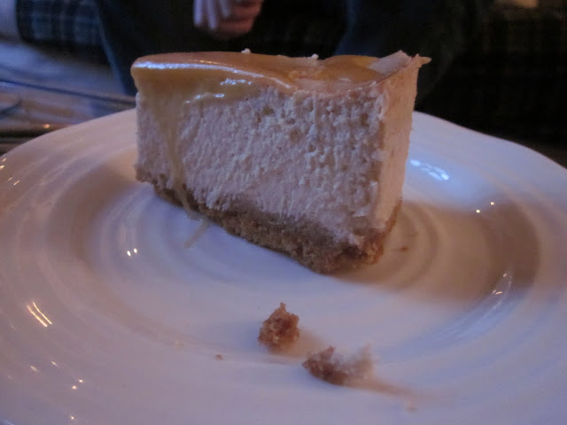 banoffee cheesecake slice