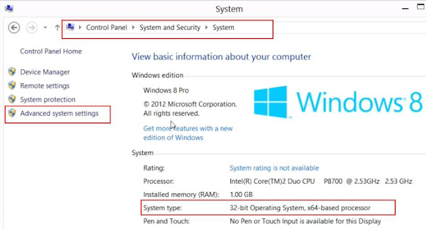 How to set path in Windows 7