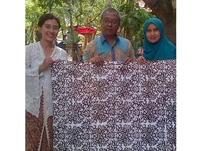 kursus batik printing sutera