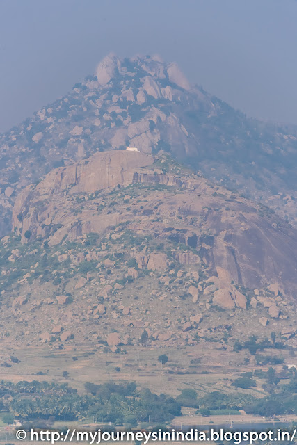 View from Madhugiri Fort