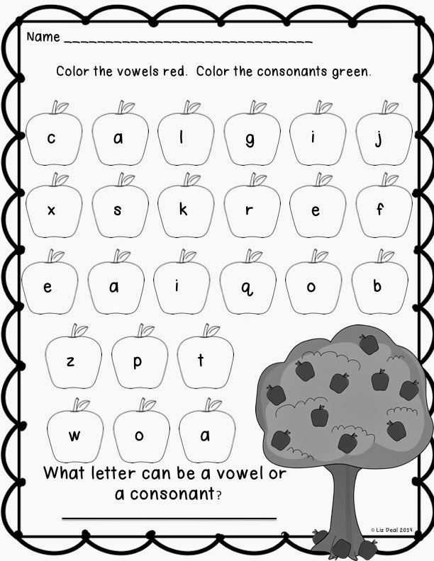 Polka Dot Firsties: Throwback Thursday: Vowels