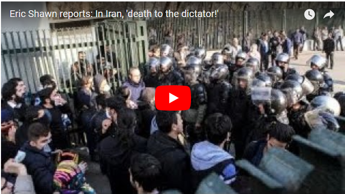 "Aksi Demonstrasi Menggila, Beredar Bocoran Rapat Kepanikan Rezim Syiah Iran: ""Tuhan Tolong Kami...."""