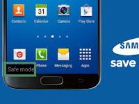 Cara Mengatasi Safe Mode/ Keluar Dari Mode Aman Samsung