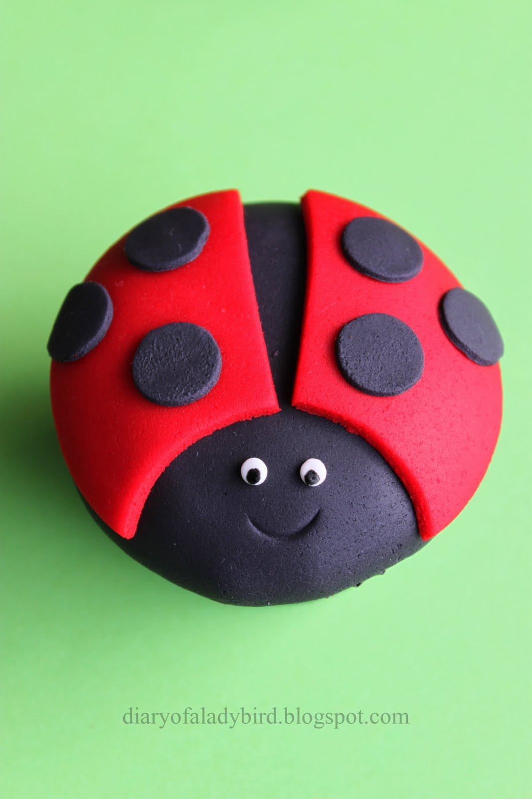 Diary Of A Ladybird Ladybird Cupcakes