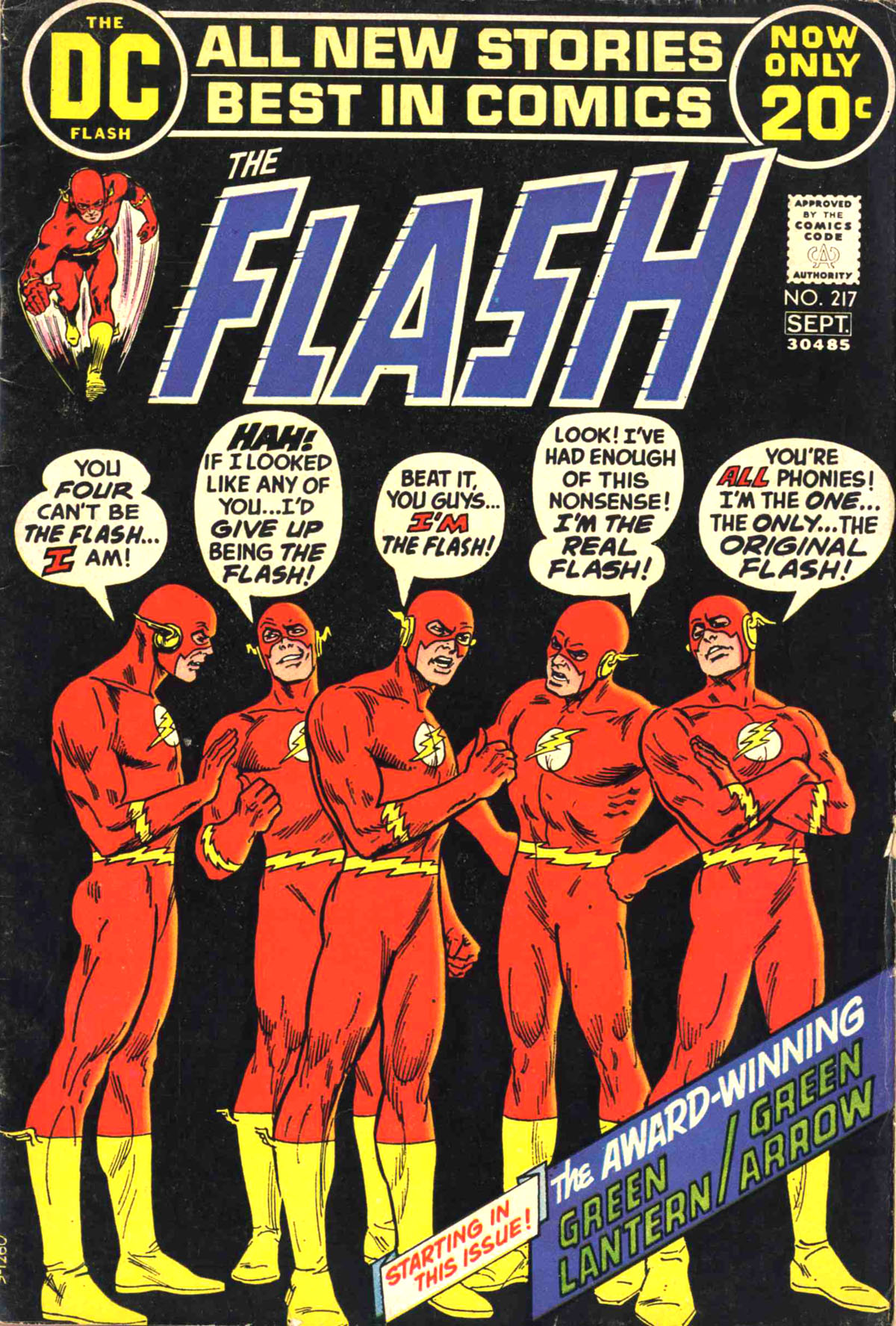 The Flash (1959) 217 Page 1