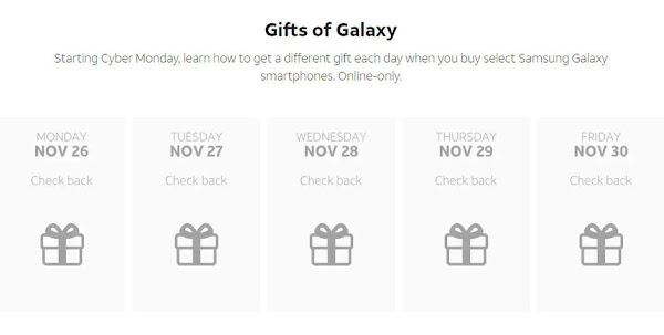 AT&T gift of galaxy