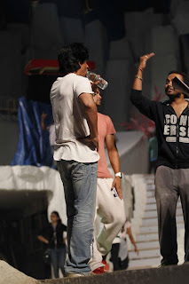 Shaharukh, Sonakshi & Ranbir at Colors Screen Awards Rehearsal