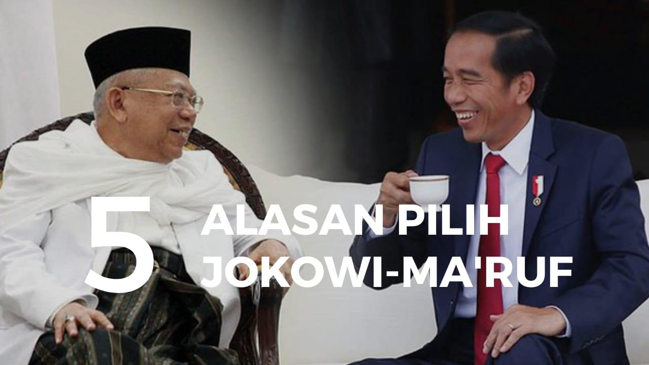 Lima Alasan Mendukung Jokowi - KH Ma'ruf Amin | Santri Nahdlatul Ulama