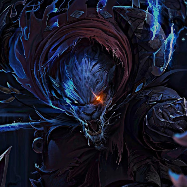 Nighthunter Rengar Wallpaper Engine