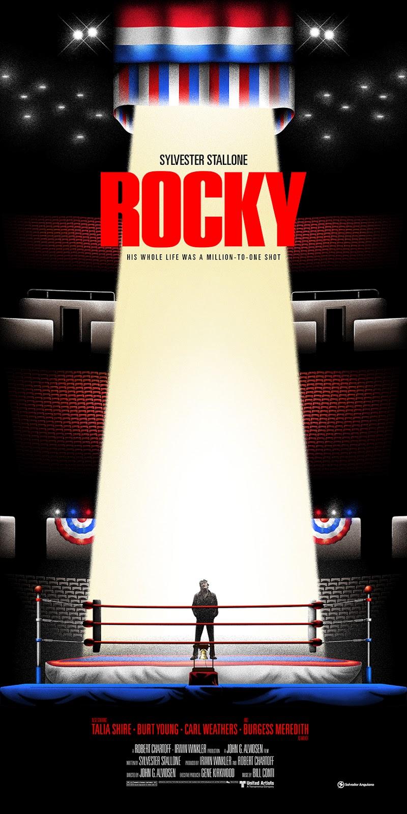 Inside The Rock Poster Frame Blog Salvador Anguiano Rocky
