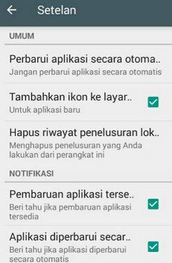 pembaruan aplikasi