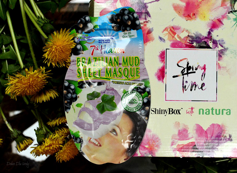 ShinyBox with Natura Spring Time - 7th Heaven Montagne Jeunesse Brazilian Mud Błotna Maska