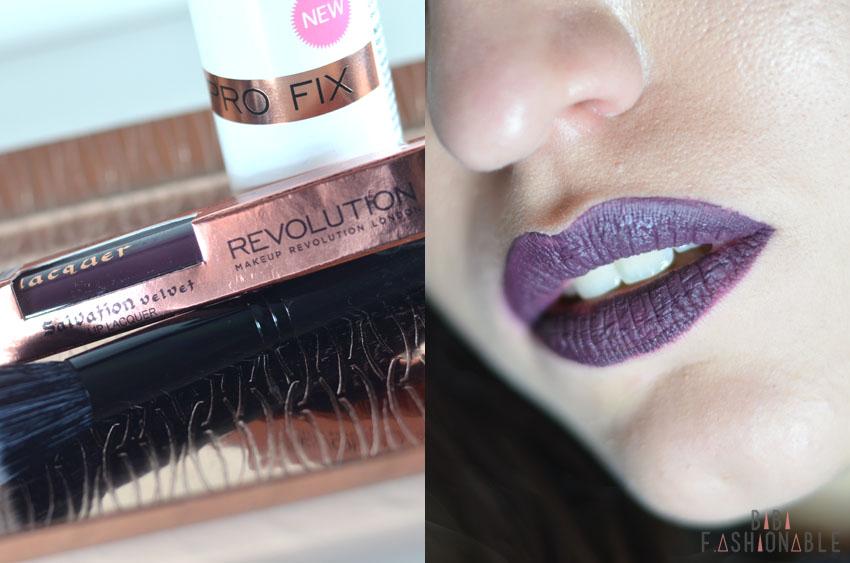 Kosmetik4Less Make Up Revolution Velvet Lip Lacquer inkl Lip-Swatch