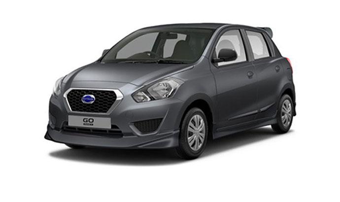 Datsun Go - Grey