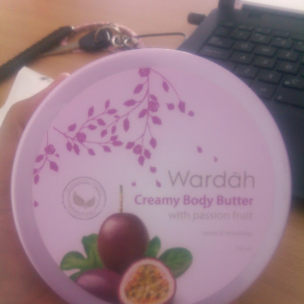 Review: Wardah Creamy Body Butter With Passion Fruit