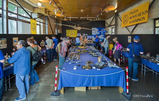 Γιάννενα: Eτήσια Έκθεση Μοντελισμού Στον Εκθεσιακό Πολυχώρο «Δημ. Χατζής»