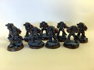 30k Burning of Prospero - Mark III Space Wolf Tactical Squad - back