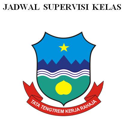 Format Daftar Supervisi Kelas untuk Berkas Akreditasi Sekolah SD-SMP-SMA
