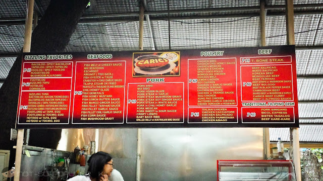 Caric's Republic Menu and Prices - AGNO