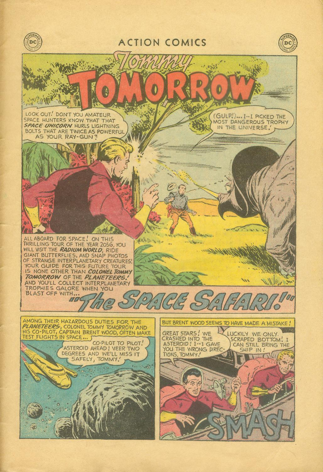 Read online Action Comics (1938) comic -  Issue #216 - 28