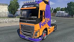 Fedex skin for Volvo 2012