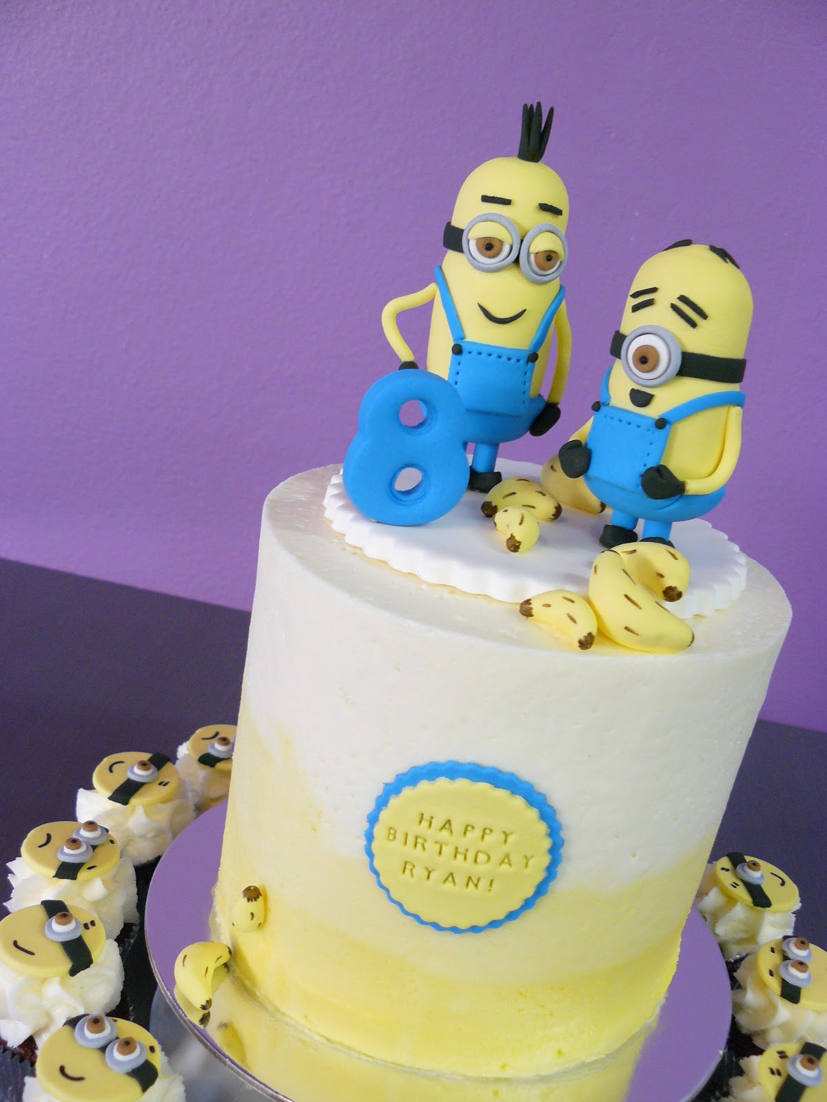The Cup Cake Taste Brisbane Cupcakes Minion Cake