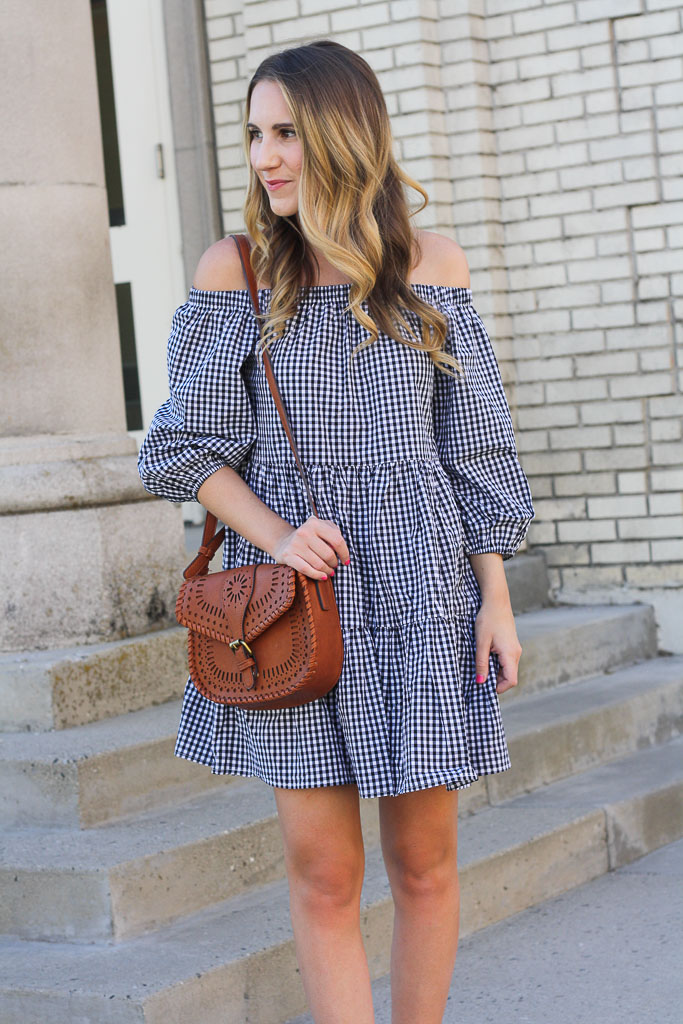 Easy summer gingham dress