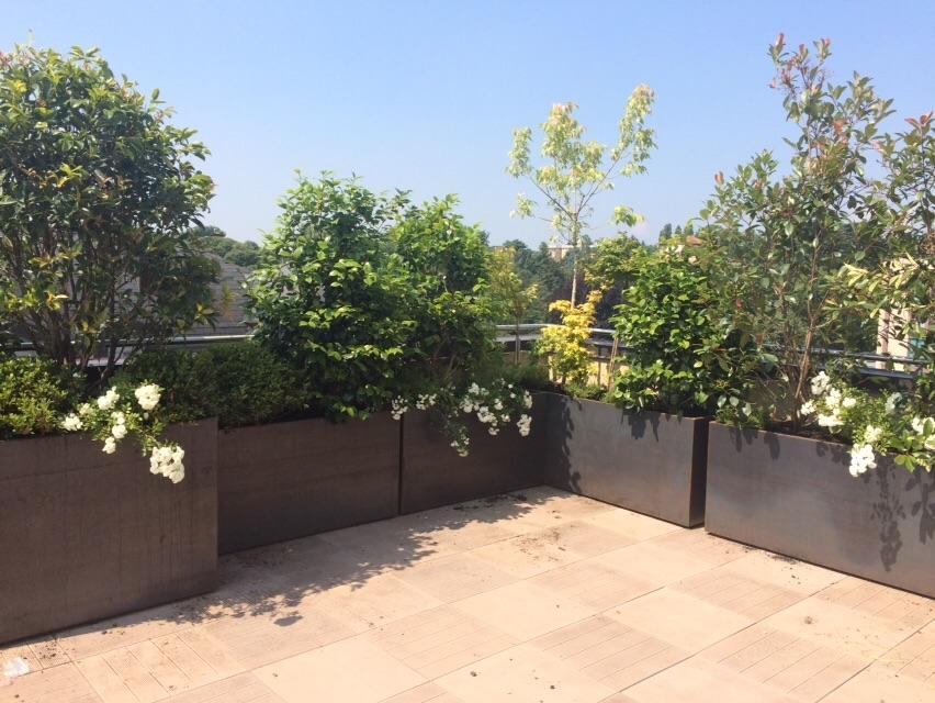 Martin design ita consigli per vasi arredamento terrazzi for Arredi esterni per terrazze