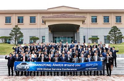 Η SsangYong διοργάνωσε το 2ο Παγκόσμιο Συνέδριο After Sales