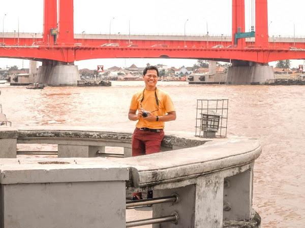 Sehari 'Liburan' di Palembang, Ke mana? Ngapain Saja?
