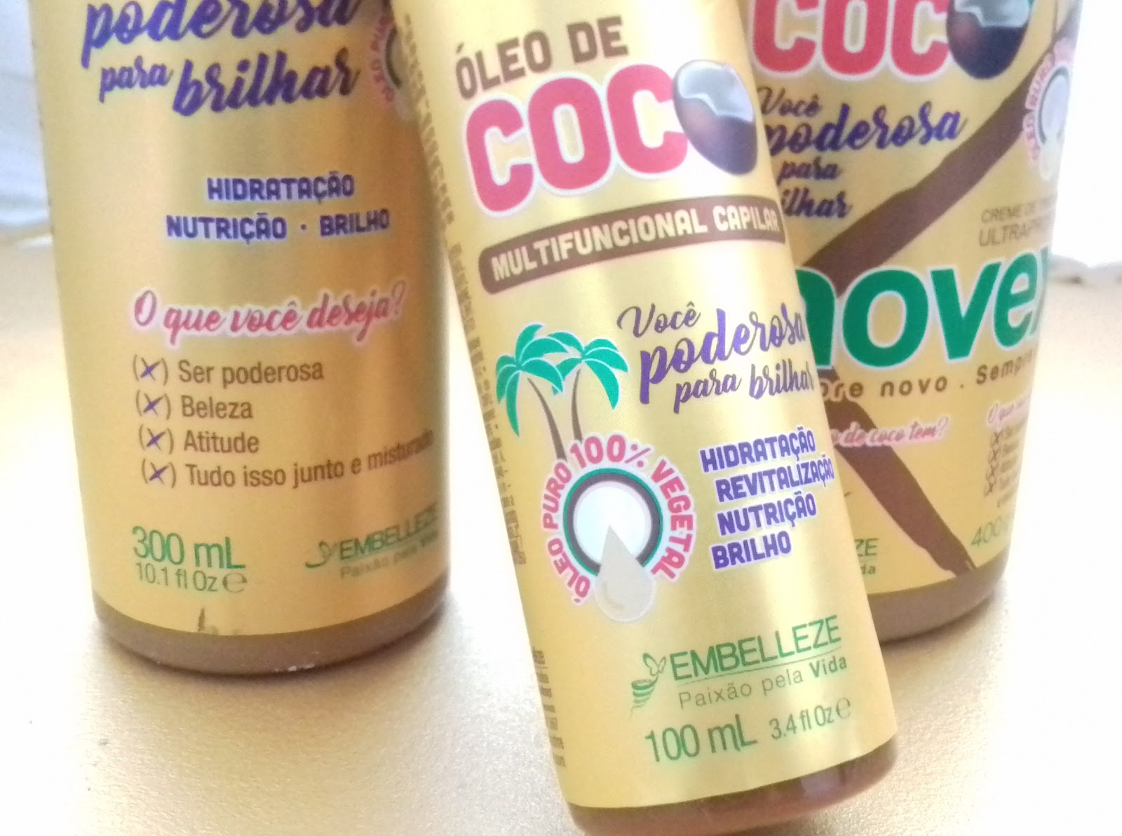 Oleo de coco embelleze - belanaselfie 2