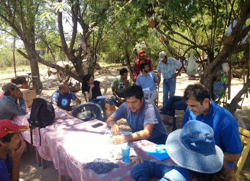 Parque chaque o forestal jornada de capacitaci n en for Viveros en santiago