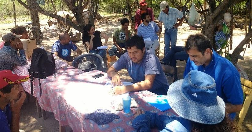 Parque chaque o forestal jornada de capacitaci n en for Viveros en moreno