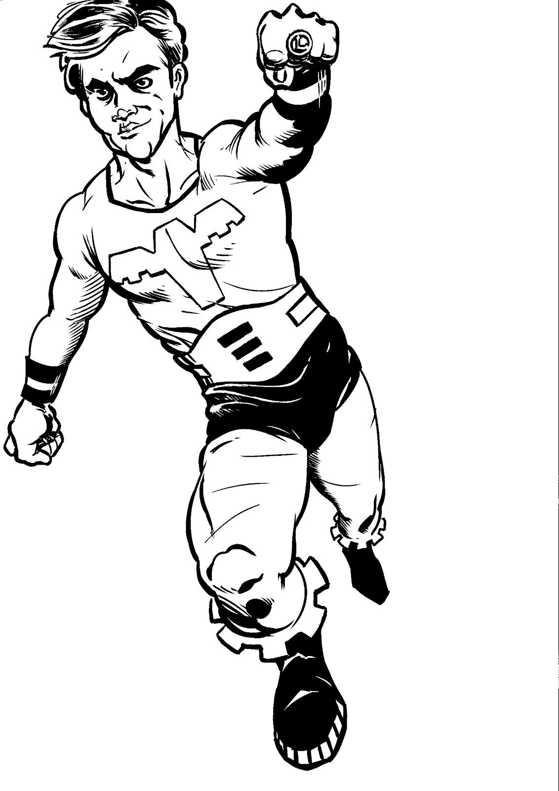 Kimo Yancey's Sketch Blog: Ultra Boy