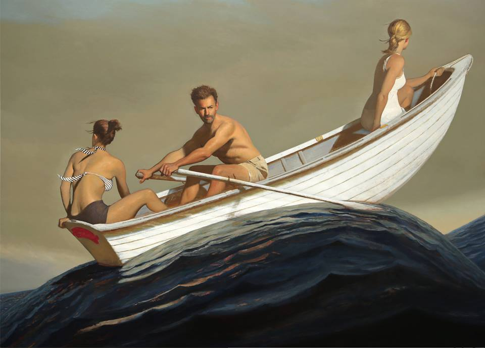 bo-bartlett-painter-artist-painting-the promised land-boat