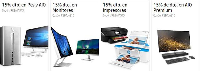 Top 10 PCs de sobremesa y monitores de las Rebajas de otoño de la HP Store